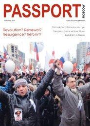 Revolution? Renewal? Resurgence? Reform? - Passport magazine