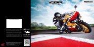 CBR600RR (PDF, 1.3 MB) - Honda