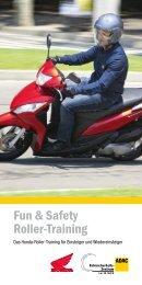 Fun & Safety Roller-Training (PDF, 0.2 MB) - Honda