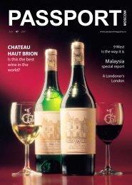 CHATEAU HAUT BRION Malaysia - Passport magazine