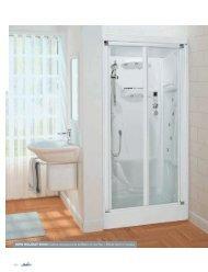NEW HOLIDAY BI100 Cabina doccia porta soffietto in ... - Novellini