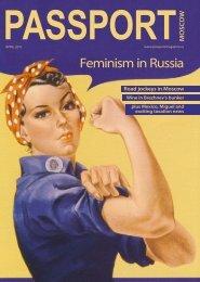 Feminism in Russia - Passport magazine