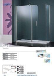 GOF73– 1 A PIATTO DOCCIA OLYMPIC VETRO: 6 mm ... - Novellini