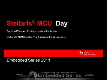 Stellaris® MCU Day - Texas Instruments