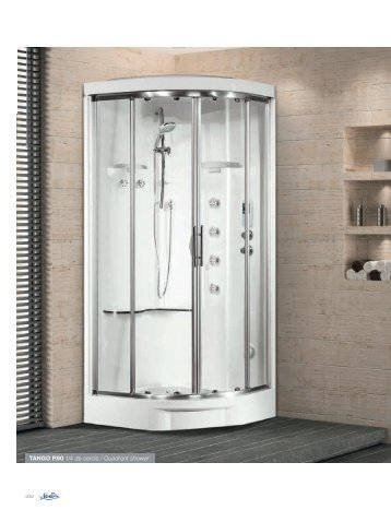 TANGO R90 1/4 de cercle / Quadrant shower - Novellini