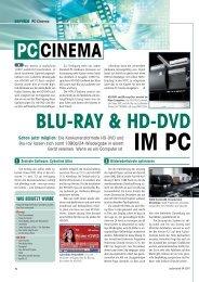 IM PC BLU-RAY & HD-DVD - Audiovision