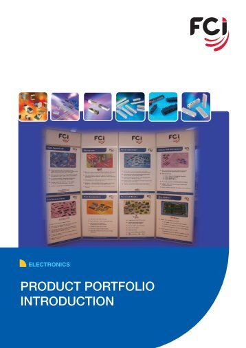 PRODUCT PORTFOLIO INTRODUCTION - FCI
