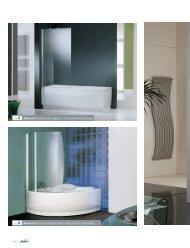 ref. 8 Aurora 8 Paroi pour baignoire UNA / Swing panel - Novellini