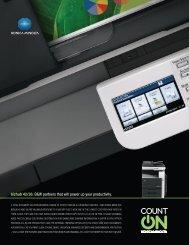 Product Brochure - konica minolta canada