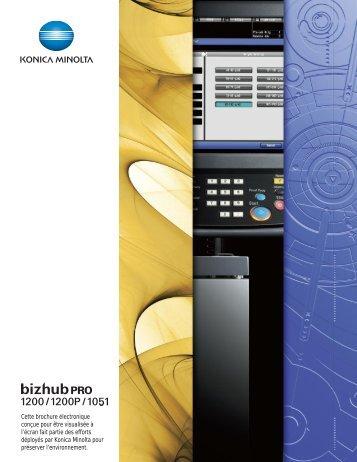 bizhub PRO 1051 - konica minolta canada