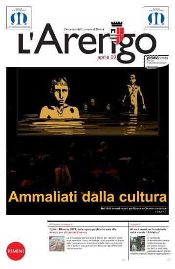 Ammaliati dalla cultura n. 16/2009 - Comune di Rimini