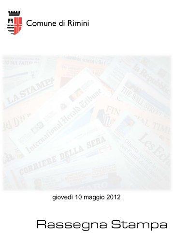Rassegna Stampa - Comune di Rimini