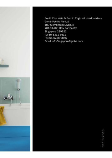South East Asia & Pacific Regional Headquarters Grohe Pacific Pte ...