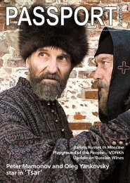 star in 'Tsar' - Passport magazine