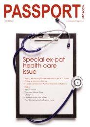 Special ex-pat health care issue - Passport magazine