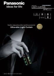 Ultra-slim Light Curtain Type 4 PLe SIL3 SF4C SERIES