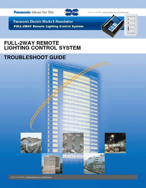 F2 Trouble Shooting Guide - Panasonic Electric Works Corporation ...