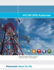 VIC100 Enhanced Catalog - Panasonic Electric Works Corporation ...