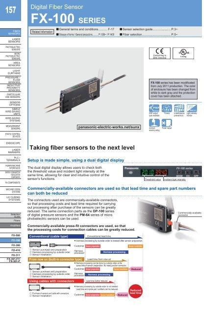 NEW SUNX Panasonic Photoelectric switch sensor FD-65