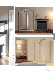 ref. 4 Walk 4 - Spazio doccia entrata laterale con colonna ... - Novellini