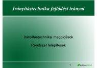 Irányítástechnikai megoldások - Albafunk