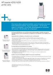 HP LaserJet 4250/4350 printer serie - VB