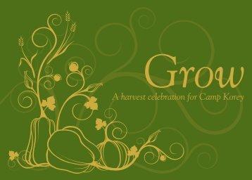Grow - Camp Korey