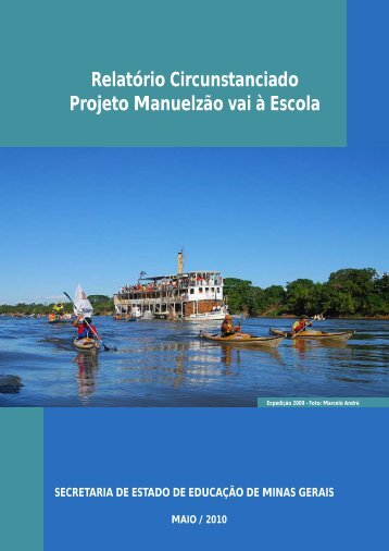 Relatório Circunstanciado Projeto Manuelzão vai à Escola