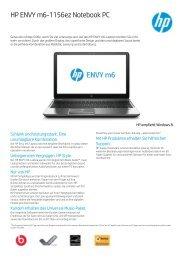 PSG Consumer 3C12 HP Notebook Datasheet - Net