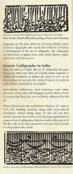 THE ARABIC CALLIGRAPHY. IN INDIA - Archaeological Survey of ... - Page 3