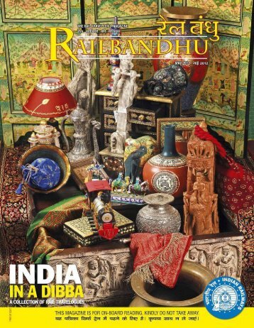 Rail Bandhu Magazine - Archaeological Survey of India