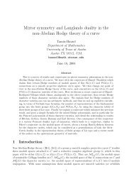 Mirror symmetry and Langlands duality in the non-Abelian ... - GEOM
