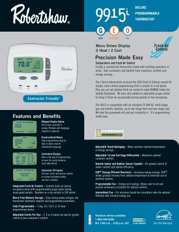 Precision Made Easy - Air & Water