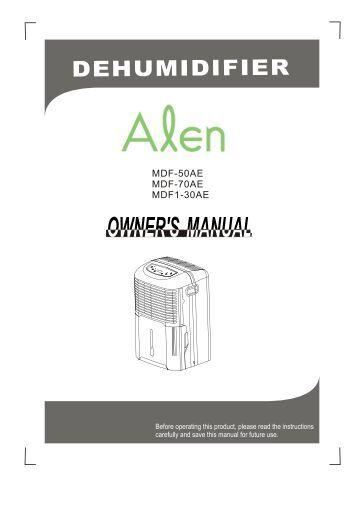 midea dehumidifier 50 pint pdf manual