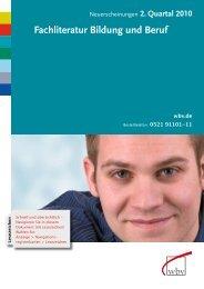 0521 91101-11 - W. Bertelsmann Verlag