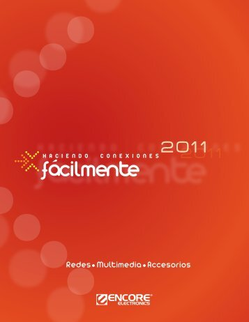 Redes Multimedia Accesorios - Encore Electronics