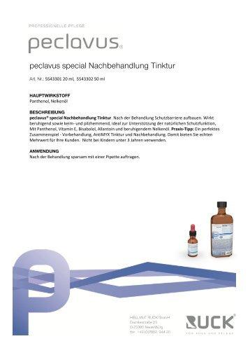 Datenblatt - Peclavus
