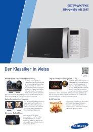 Spezifikationen als PDF - Samsung