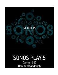 SONOS PLAY:5 - Net