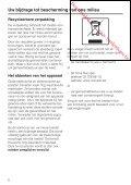 Gebruiks- en montageaanwijzing Diepvriezer met ... - Vanden Borre - Page 6