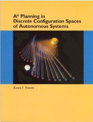A* Planning in Discrete Configuration Spaces of Autonomous Systems