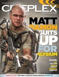 Cineplex Magazine August2013