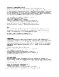 Prelude Wine List - City Video Guide