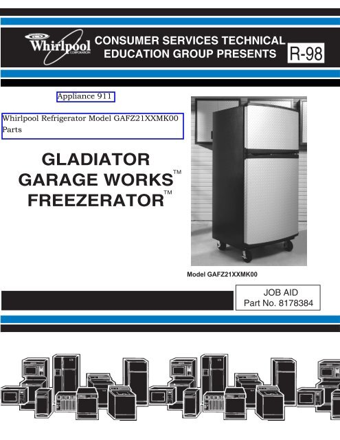 Outstanding Freezerator Gaf Z21Xxmk00 Gladiator Series Service Manual Wiring Digital Resources Warobapapkbiperorg