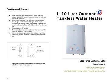 rinnai tankless water heater installation manual