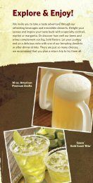 Drink Menu - City Video Guide