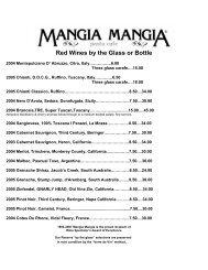Wine List - City Video Guide