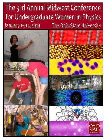 Conference program - Department of Physics - The Ohio State ...