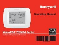 69-1894EF-1 - VisionPRO TH8000 Series - ALL HVAC HOME