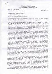 maria aguinda y otros corte provincial de justicia ... - ChevronToxico